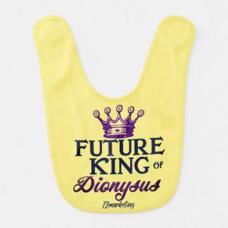 Rei futuro do carnaval infantil do babador do bebê