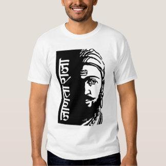 Rei indiano Shivaji do guerreiro Camiseta