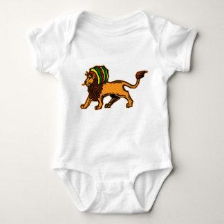 Rei Rasta Leão de Jah Body Para Bebê
