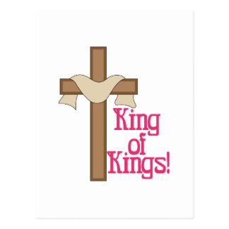 Rei rei cartão postal