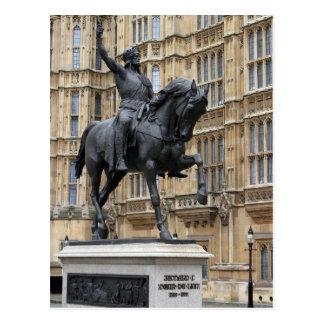 Rei Richard o Lionheart - o parlamento - cartão