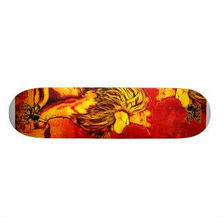 Rei Skate Skidone do leão
