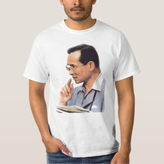 Rei tailandês Bhumibol Adulyadej - ภูมิพลอดุลยเดช Camiseta