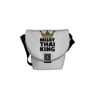 Rei tailandês de Muay Bolsas Mensageiro