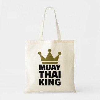 Rei tailandês de Muay Sacola Tote Budget