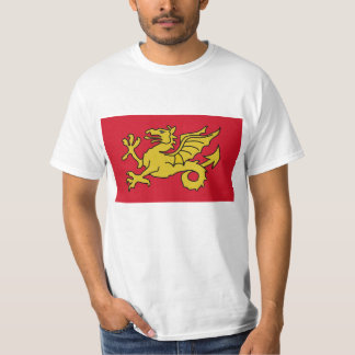 Reino da bandeira de Wessex de Inglaterra Camiseta