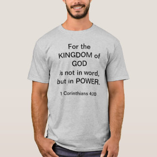 Reino de DEUS Camiseta