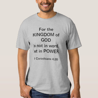 Reino de DEUS T-shirts