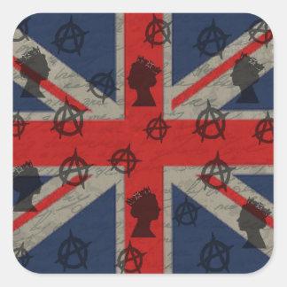 Reino Unido Adesivo Quadrado