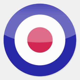 Reino Unido Adesivos Em Formato Redondos