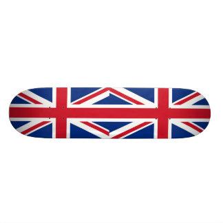 - Reino Unido - bandeira britânica de Grâ Bretanha Shape De Skate 20,6cm
