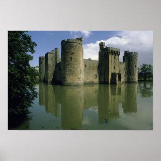 Reino Unido, Inglaterra, Sussex, Bodiam Poster