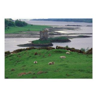 Reino Unido, Scotland, ilha de Skye, velha Impressão De Foto