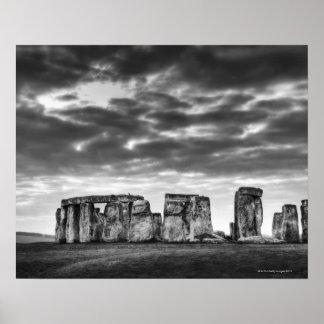 Reino Unido, Stonehenge 11 Poster
