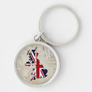 Reino Unido traçou o chaveiro fino