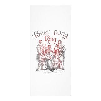 Reis de Pong da cerveja 10.16 X 22.86cm Panfleto