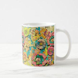 Rejubilante na caneca de café do melão
