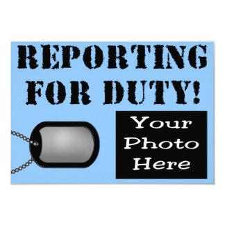 Relatório para o anúncio do nascimento do dever -