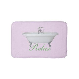 Relaxe a esteira de banho tapete de banheiro