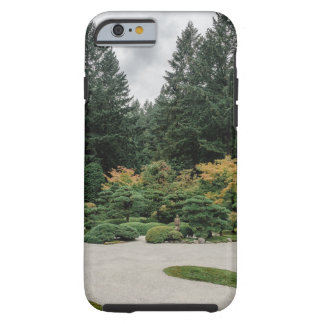 Relaxe em um jardim japonês capa tough para iPhone 6