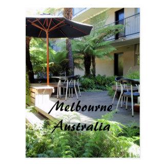 Relaxe no cartão de Melbourne Austrália