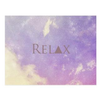 Relaxe o cartão