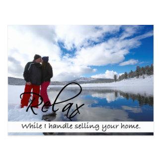 RELAXE o cartão dos bens imobiliários