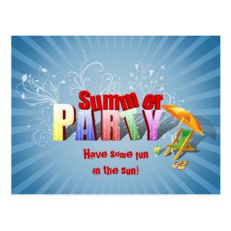 Relaxe o convite de festas do divertimento do
