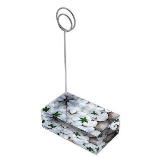 Relaxe o titular do cartão suportes para cartoes de mesas