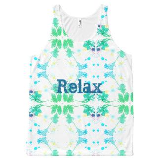 Relaxe Regata Com Estampa Completa