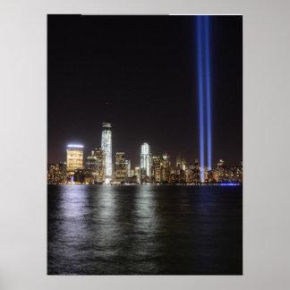 Relembrança do World Trade Center Poster
