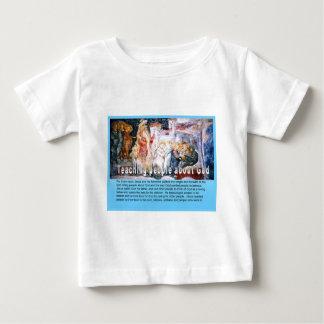 Religião, cristão, Jesus, ensinando sobre o deus Tshirts