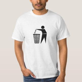religião da descarga tshirt