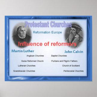 Religião, história, influência dos reformistas poster