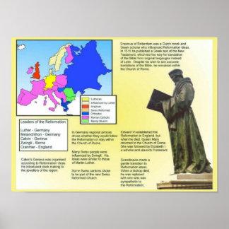 Religião, história, vista geral da reforma poster