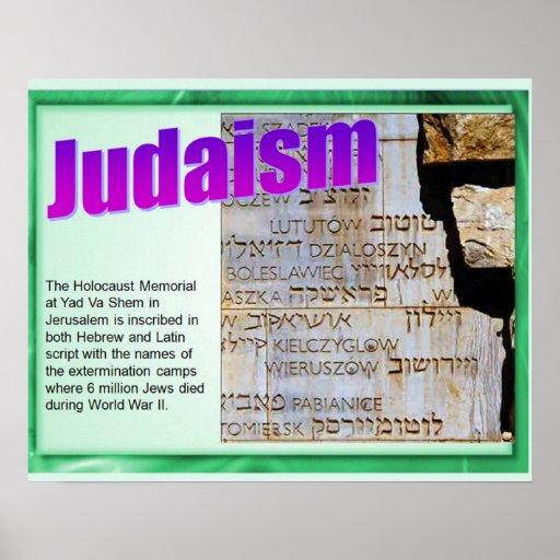 Religião, judaísmo, memorial do holocausto posters