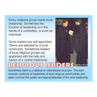 Religião líderes religiosos cartoes postais