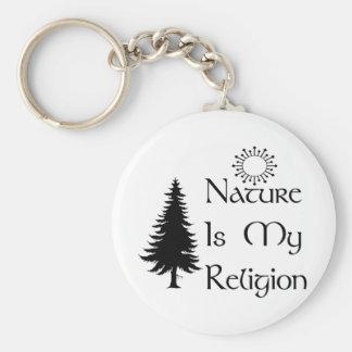 Religião natural chaveiro