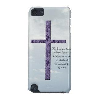 Religioso Cruz-com a escritura Capa Para iPod Touch 5G