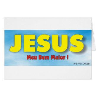 Religiosos 1 cartão comemorativo
