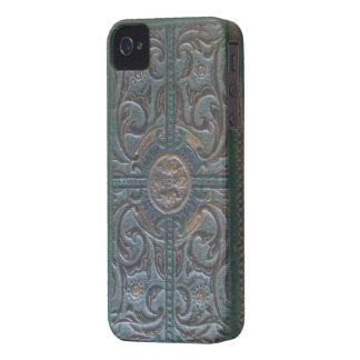 Relíquia de couro utilizada ferramentas velha capa para iPhone