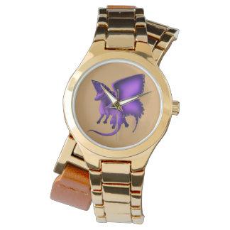 Relógio 3 do dragão da borboleta