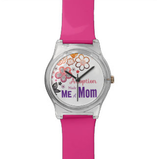Relógio A adopção fez-me uma mamã