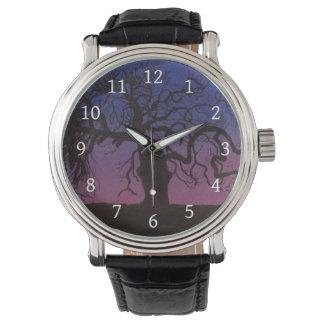 Relógio A árvore Gnarly