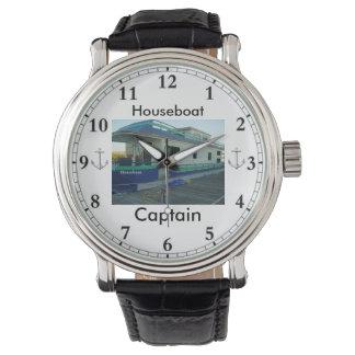 Relógio A Observação da casa flutuante do capitão