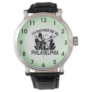 Relógio A preferencialmente esteja em Philadelphfia