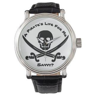 Relógio A vida de um pirata para mim… esclarecido?