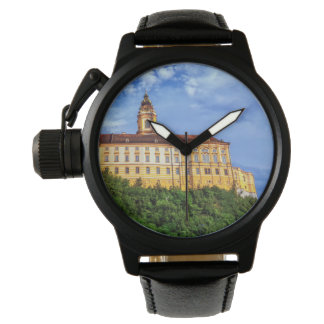 Relógio Abadia do licor beneditino, Melk, Áustria