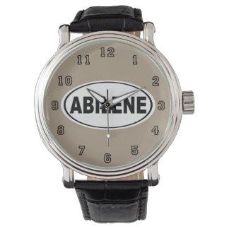 Relógio Abilene Texas