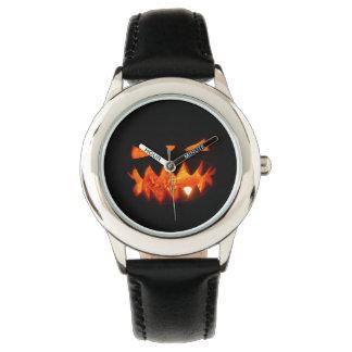 Relógio Abóbora do Dia das Bruxas